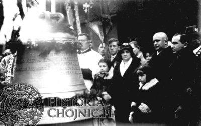 Antoni Kaźmierski był fundatorem dzwonu dla kościola p.w. św. Jana Chrzciciela.