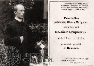 Ksiądz Józef Leonard Czapiewski (1885 - 1940)