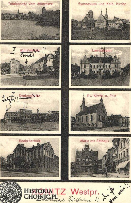 Widokowka z widokami Chojnic.