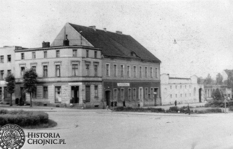 Zabudowa miejska z widokiem na d. Hotel Urbana. L. 60.