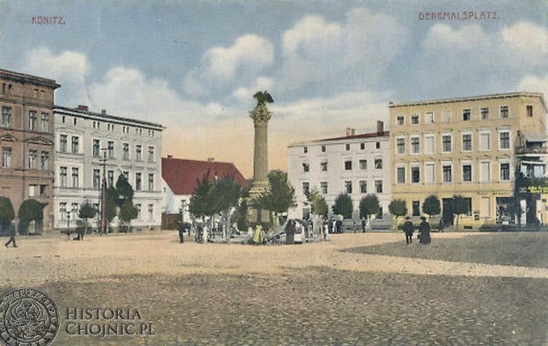 Plac Jagielloński. Widok z ok. 1918 r.