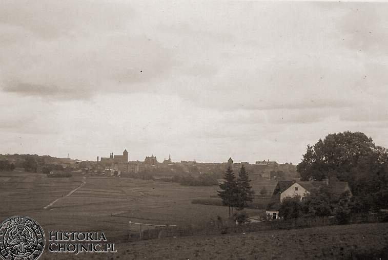 Panorama Chojnic.