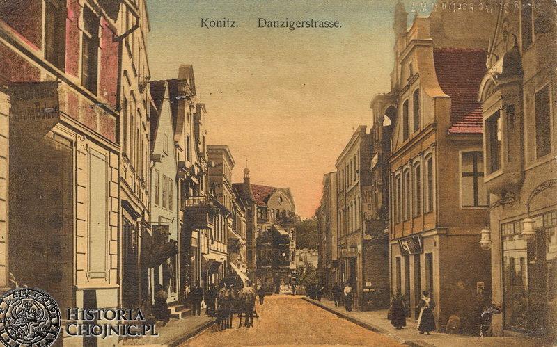 Dawna ul. Gdańska. Ok 1908 r.