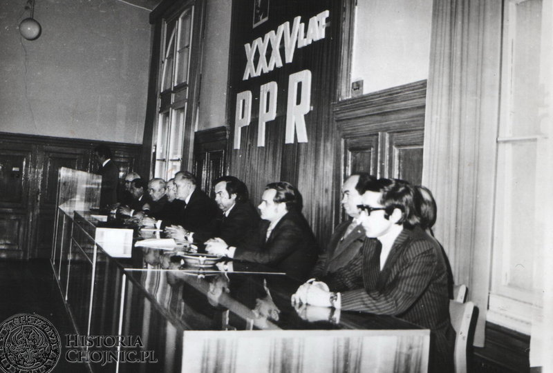 Obchody XXXV lecia powstania PPR. Luty 1977 r.