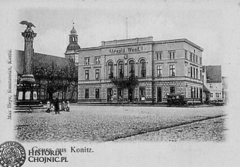 Kamienica przy pl. Jagiellońskim. Ok. 1918 r.