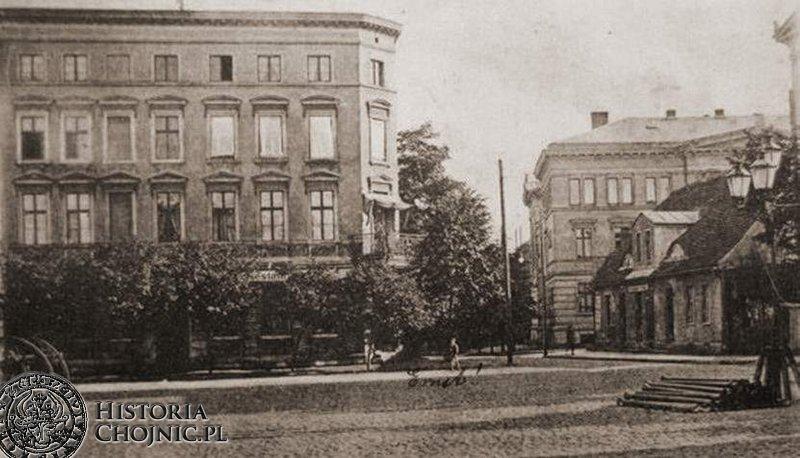 Obecny plac Jagielloński. Ok 1900 r.