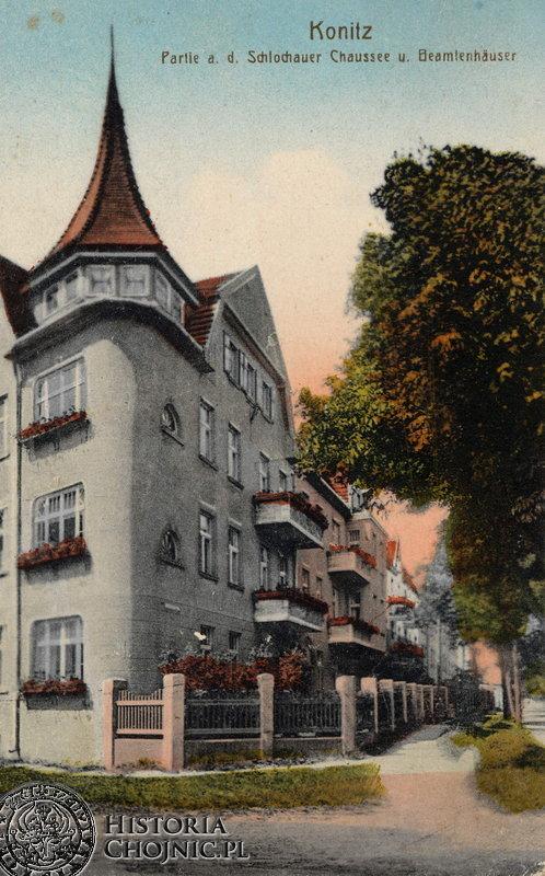 Kamienica przy ul. Człuchowskiej. Ok. 1915 r.