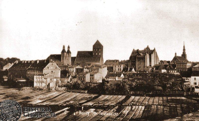 Widok na miasto. Ok. 1910 r.