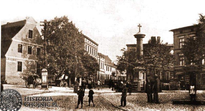 Plac św. Jerzego. Ok. 1907 r.