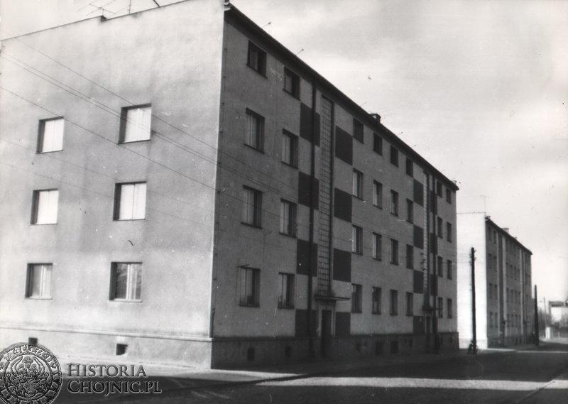 Bloki przy ul. Łanowej. Lata 70.