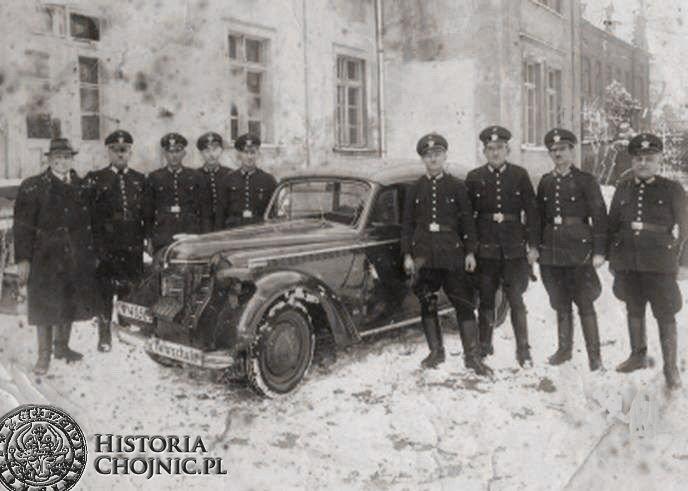 Kurs kierowników straży pożarnej. Chojnice. L. 30.