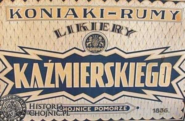 Reklamy firm działajacych do 1939 r . w Chojnicach.