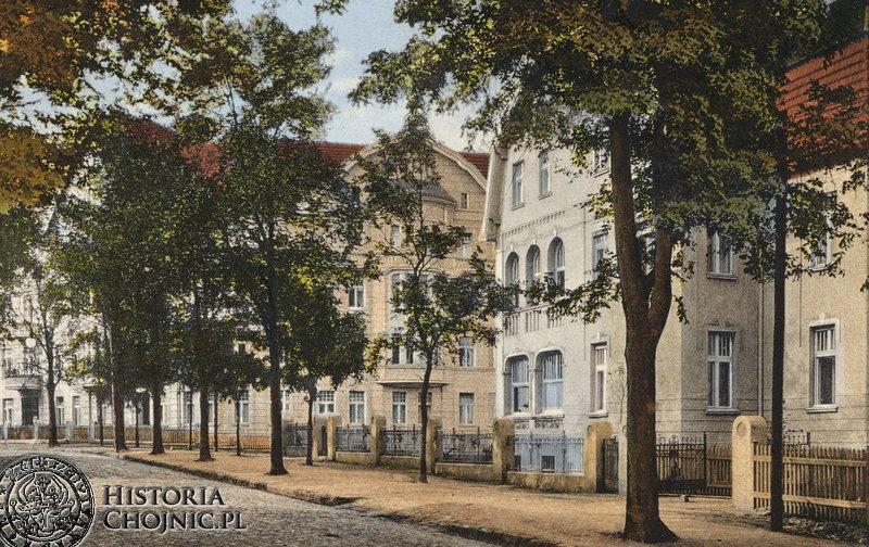 Widok na ul. Dworcową. Początek XX w.