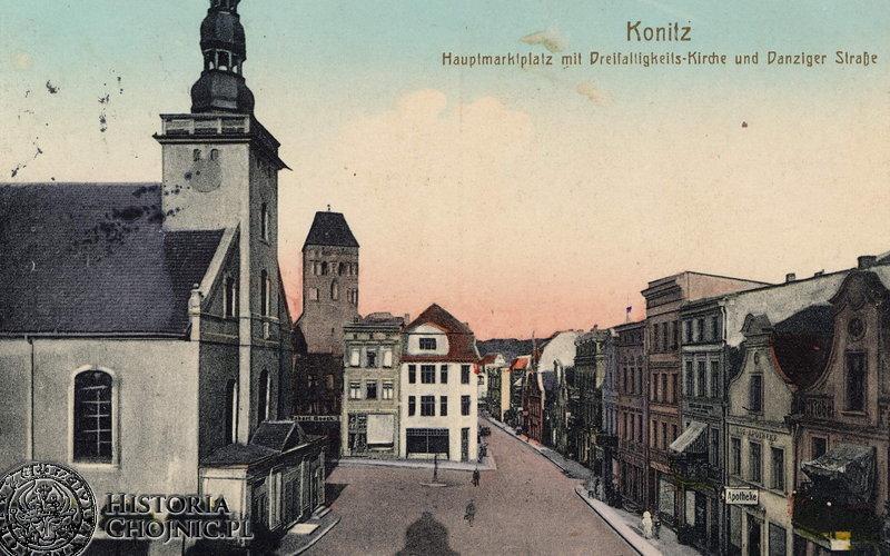 Panorama z początku XX w.