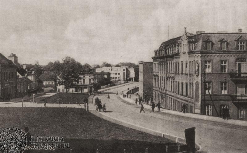 Chojnice. Widok z 1942 r.