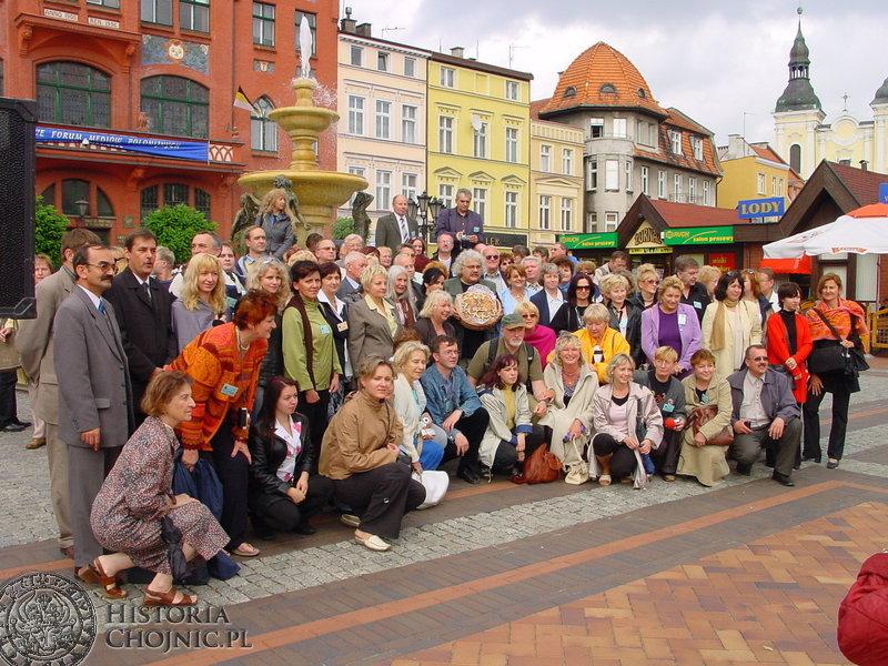 W ramach XII Światowego Forum Mediów Polonijnych w Chojnicach gościła grupa 150 dziennikarzy z 33 krajów świata.