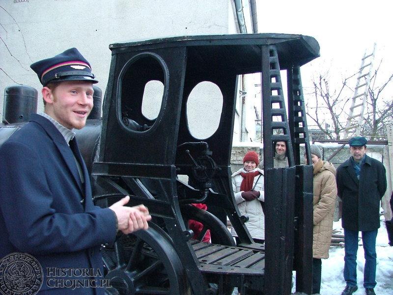 Jarosław Urbański na uroczystości nadania swemu dziełu imienia opowiadał przybyłym gościom o tym jak Piękna Helcia powstawała.