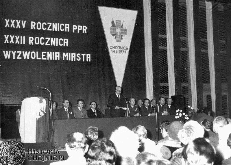 Akademia okolicznościowa 1977 r.