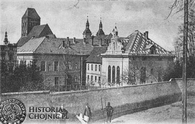 Zabudowania klasztorne. Początek XX w.
