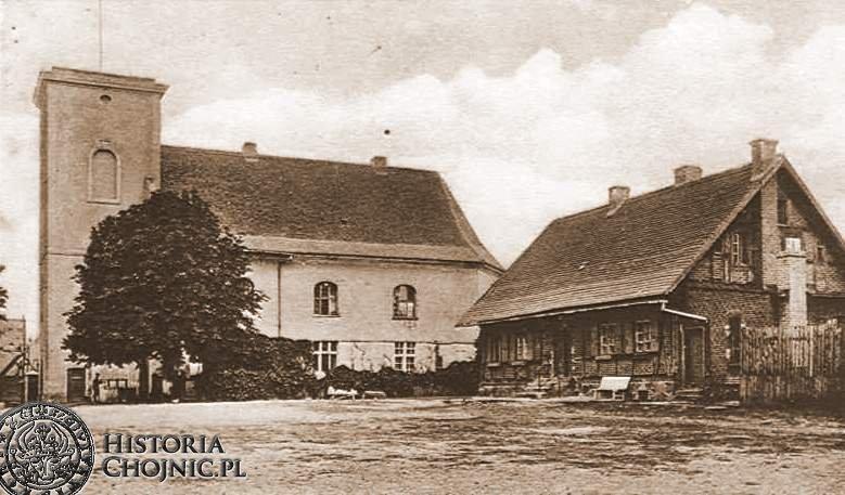 Budynek dawnego klasztoru. Ok. 1940 r.