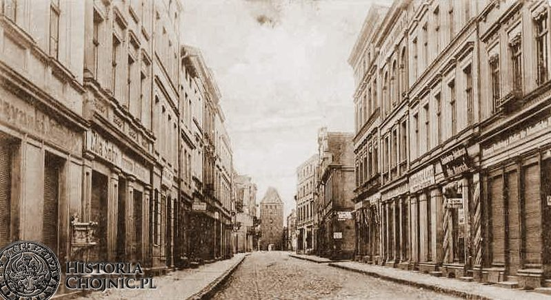 Kamienice przy dawnej ul. Gdańskiej.