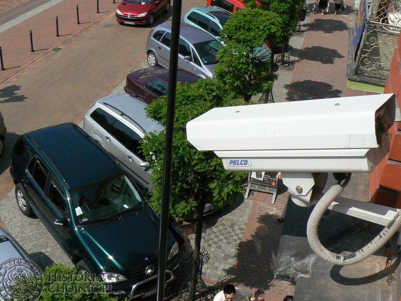 System monitorowania centrum miasta.
