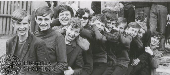 Lata 1970 - 1980. Zespół taneczny.