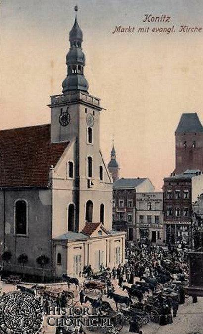 Kościół ewangelicki p.w. św. Trójcy. Ok. 1910 r.