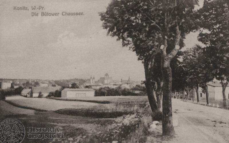 Panorama miasta od ulicy Bytowskiej, ok.1917 r.