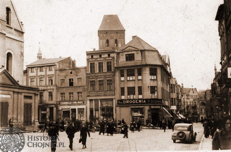 Handel I Usługi Lata Międzywojenne Materiały Historia Chojnic