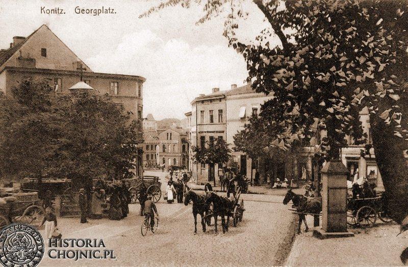 Plać św. Jerzego. Ok. 1915 r.