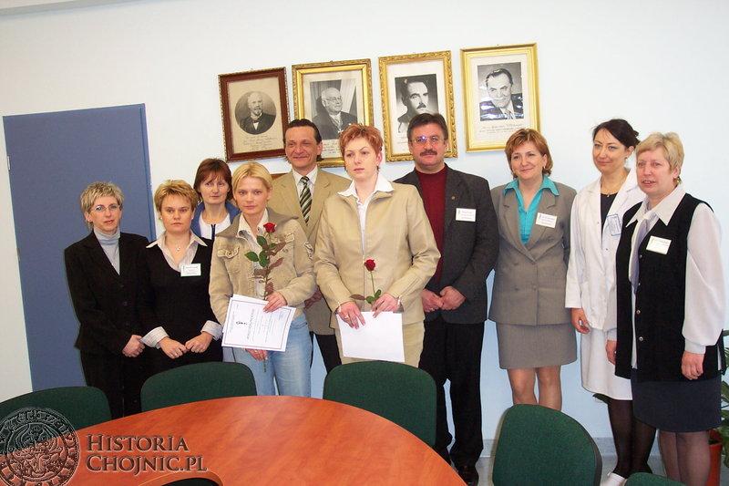Pracownicy Szpitala Specjalistycznego im J. K. Łukowicza nie wahają się udzielić pomocy drugiemu człowiekowi.