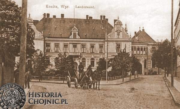 Po prawej widoczna dobudowa. Ok. 1918 r.