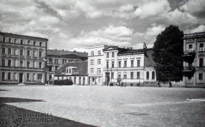 Widok na pl. Jagielloński ok. 1919 r.