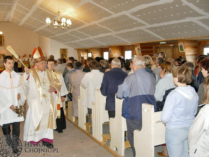 Biskup Jan Bernard Szlaga, ustanowił w Chojnicach dwie nowe parafie. Są to: parafia Św. Jadwigi na Osiedlu Słonecznym parafia pod wezwaniem Chrystusa Miłosiernego.