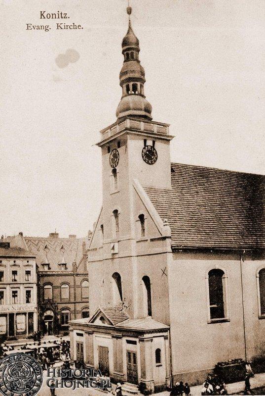 Kościół p.w. św. Trójcy. Rynek.