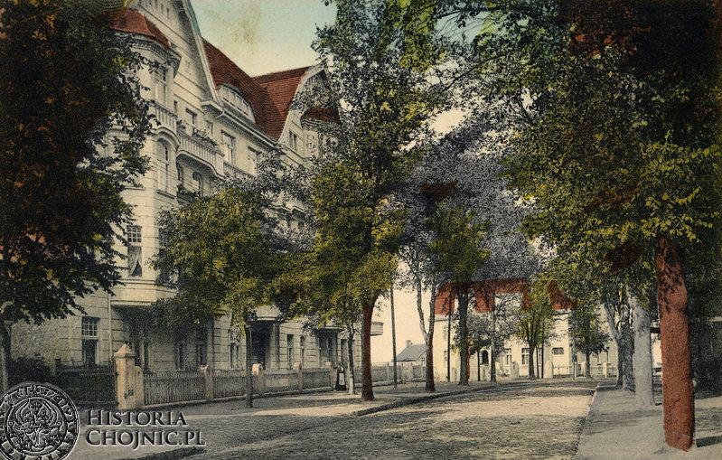 Ulica Dworcowa . Początek XX. w.