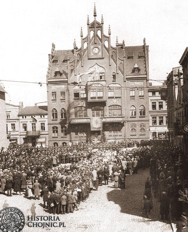 Uroczystości 3 maja. 1923 r.