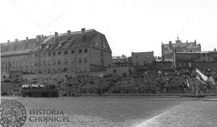 Na stadionie Chojniczanki - l. 60.