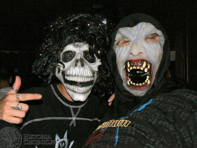 W ostatni wieczór października Halloween zorganizowali właściciele pubu Pod czerwonym diabłem.