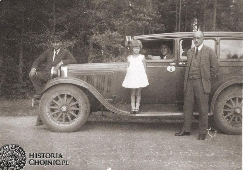 Zdjęcie z archiwum rodziny Bonin w Chojnicach. Ok. 1929 r,
