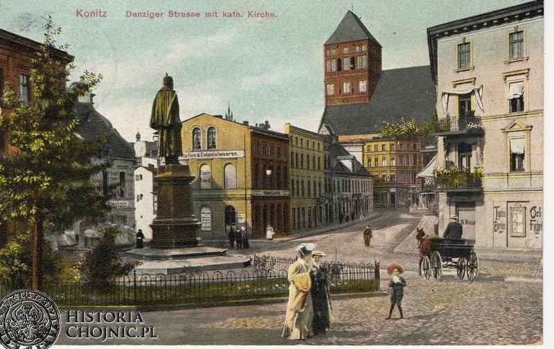 Wilhelmsplatz. Ok 1908 r.