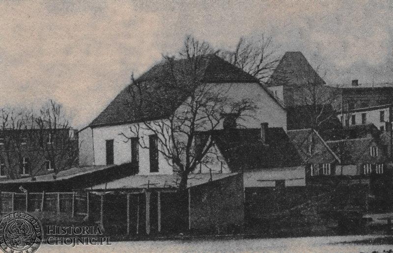 Synagoga została zburzona przez hitlerowców w 1939 r.