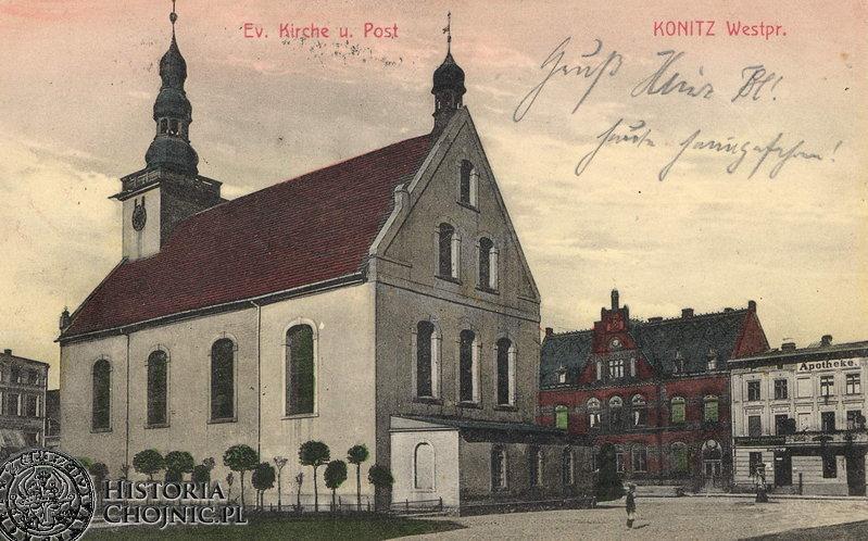 Kościół p.w. Św. Trójcy. Ok. 1910 r.