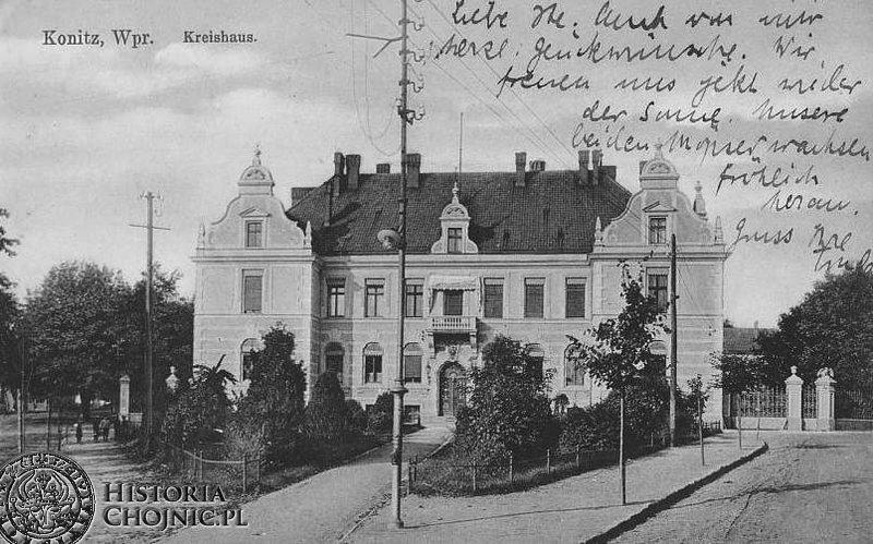 Budynek Starostwa ok. 1903 r.