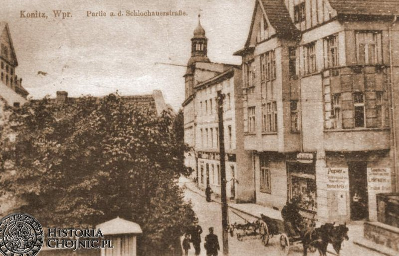 Kamienica przy dawnej ul. Człuchowskiej (ob. 31 stycznia)