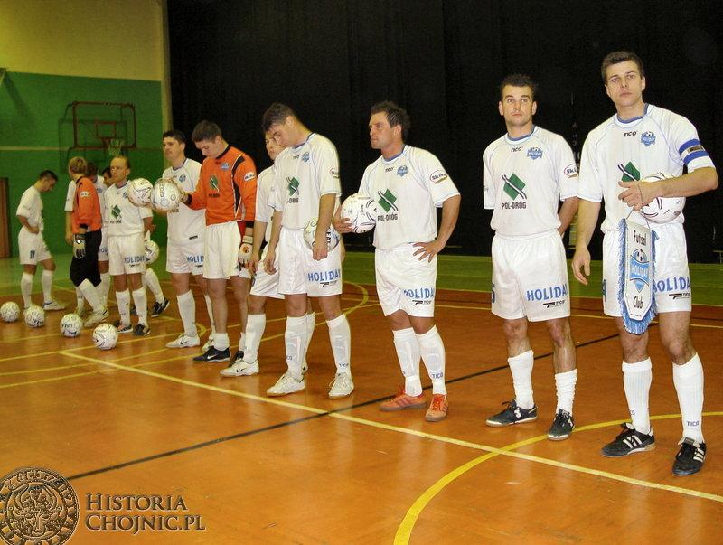 Drużyna Holiday osiągnęła największe sukcesy w historii chojnickiego futsalu.