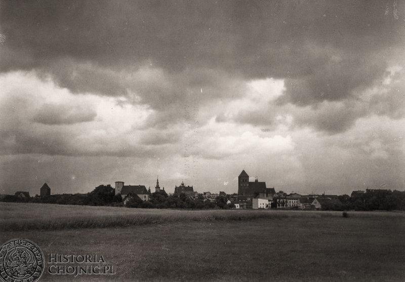 Panormama miasta. Widok z lat 30.