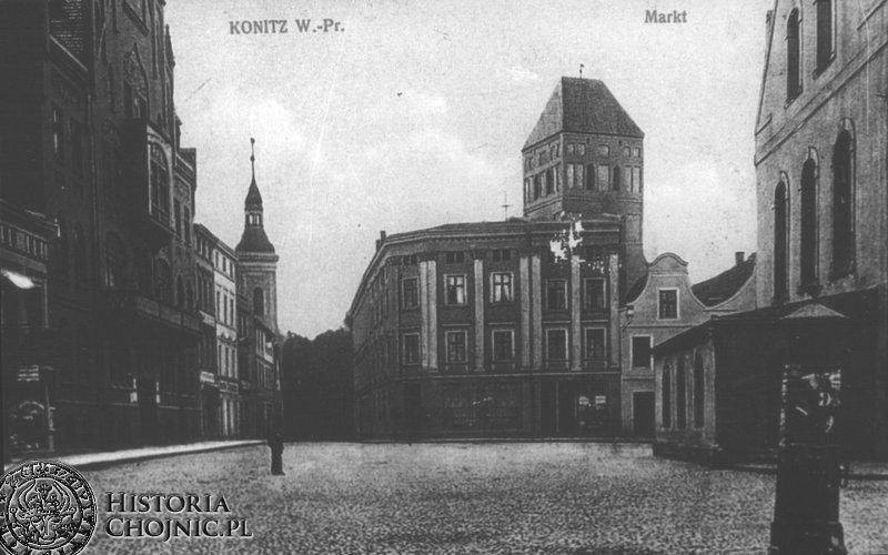 Rynek. Ok. 1908 r.