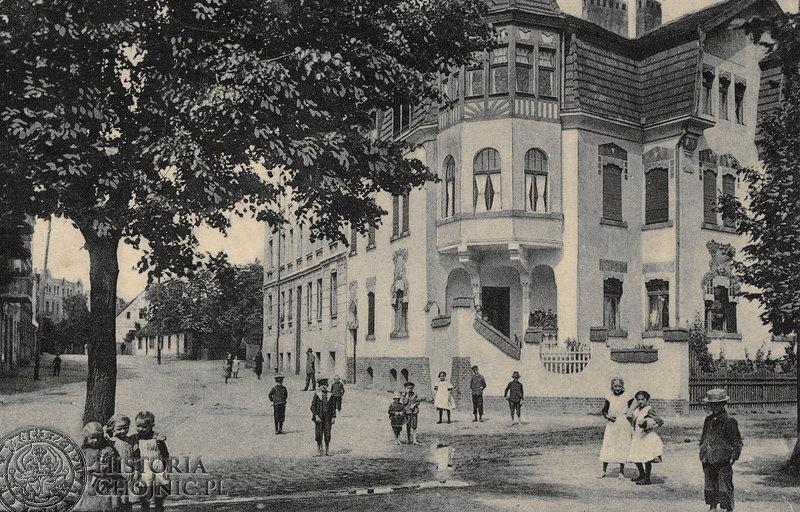 Kamienica przy dawnej ul. Cegielnianej. Początek XX w.